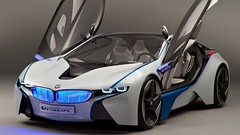 bmw_vision_efficientdynamics_concept_front_view_97571_1280x720 (andini.dermayu) Tags: car bmw sport white