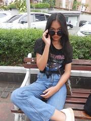 DSCN8872 (Avisheena) Tags: avisheena model tumblr girl outfit hello world black jeans aesthetic sunglasses