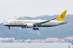 ROYAL BRUNEI AIRLINES B787-8 DREAMLINER V8-DLE 002 (A.S. Kevin N.V.M.M. Chung) Tags: aviation aircraft aeroplane airport airlines plane spotting hkg landing approach boeing b787 dreamliner b7878