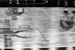 silhouettes (ale_brando) Tags: virtusroma–remerblubaskettreviglio silhouettes shadows court basketball player basket darkness silverefexpro niksoftware nikonfx fx d700 blackwhite monochrome mono