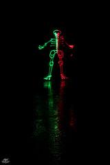 Finde Grimaldo (Frodo DKL) Tags: lightpainting light painting lightart art pinturadeluz pintura de luz larga exposición largaexposicion longexposure longexposurephotography noctography children of darklight childrenofdarklight dkl frododkl frodoalvarez frodo lightpaintingparadise lpp lumipop olympus esolympus nubia ledlenser matteriacreativa nophotoshop model portrait retrato modelo backlight fibra fiber tunel tunnel reflejo reflection skeleton esqueleto skull 2colors twohanded led