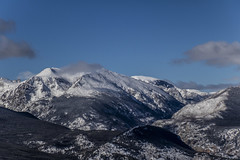 Cloud Passing By (noname_clark) Tags: rockymountainnationalpark outdoor hike snow lillymountain cloud mountain blue