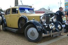 Rolls-Royce 25-30 Hooper Sports Saloon 1936 P1430177mods (Andrew Wright2009) Tags: historic dockyard 1940s weekend kent england uk heriatge history cars automobiles classic vehicle chatham rollsroyce 2530 hooper sports saloon 1936