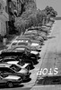 Dominoes (davetherrienphoto) Tags: deadend california sanfrancisco slope parking cars hills hill bw hilly