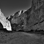 Walking Along the Shores of the Rio Grande (Black & White, Big Bend National Park) thumbnail