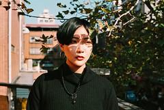 https://www.instagram.com/kaku_foto/ (カク チエンホン) Tags: film fuji contax girl g2 g45 portrait people taiwan taipei