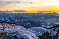Sonnenuntergang vom Hochgrat im Winter (PADDYSCHMITT.DE) Tags: sonnenuntergang säntis hochgrat winteramhochgrat sonnenuntergangamhochgrat westallgäu sunsetsäntis abenddämmerung berge mountains winterimallgäu