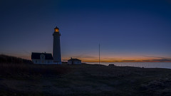 No. 1068 Hirtshals lighthouse (H-L-Andersen) Tags: panorama hirtshals lighthouse bluehour denmark canoneos6d canon manfrotto landoflight landscape nature sunset sea northsea sky water