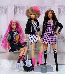 The band (Annette29aag) Tags: barbie doll group rocker