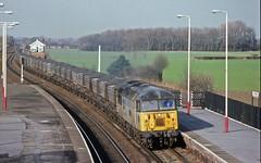 56091 (paul_braybrook) Tags: class56 diesel coal mgr churchfenton northyorkshire freight railway trains