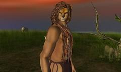 LION (Alea Lamont) Tags: ndmd male lion skin appliers omega fantasy faire 2019 vista gerard bento head signature gianni body