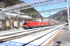 2x OBB 1116 met Goederentrein (vos.nathan) Tags: taurus obb österreichische bundesbahnen brenner brenero 1116 122 179