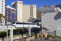 One Liner (Josh 223) Tags: lasvegasnevada fabulouslasvegas monorail publictransportation lasvegas elevatedrailway train railroad railway trainspotting railroadphotography railfanning