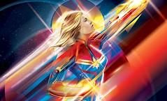 Captain Marvel : Higher, Further, Faster – Premium Art Print par Sideshow (Shady_77) Tags: captainmarvel marvel artprint sideshow editionlimitée limitededition
