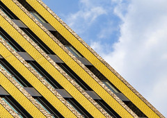 Yellow Stripes (Joseph Pearson Images) Tags: building architecture abstract theresidence london