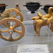 Terracotta model of a two-wheeled chariot, from Syracuse