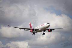 Avianca Airbus A330-300 (N803AV) -Flight AV126 © (CAUT) Tags: aviation aviacion aircraftspotting planespotting spotting spotter avion aircraft airplane plane flugzeug aeropuerto airport caut 2019 nikon d610 usa kolumbien