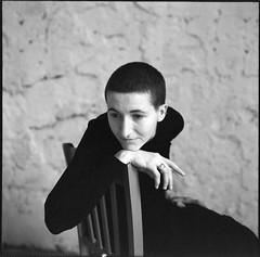 Ксения (Natasha Buzina) Tags: portrait studio pentaconsix film bw blackandwhite mediumformat fomapan пленка портрет студия
