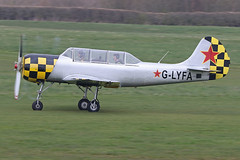 G-LYFA (QSY on-route) Tags: glyfa manchester egcb barton city airport 30032019