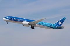 Air Tahiti Nui (So Cal Metro) Tags: airline airliner airplane aircraft aviation airport plane jet lax losangeles la airtahitinui boeing airtahiti 787 fomua