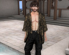 You Earn Everything! (EnviouSLAY) Tags: gin pants japanese japan neojapan newreleases new releases caboodle black ornate tmd poses anaposes ana pose beard facialhair facial hair daddy dura magnificent bento lelutka guy belleza jake letre themensdepartment the mens department opulence mensmonthly mensevent mensfashion mensfair fashion fair event pale male gay lgbt blogger secondlife second life photography