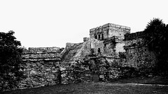 2017-12-07_09-48-49_ILCE-6500_DSC02548-EFFECTS (Miguel Discart (Photos Vrac)) Tags: 2017 42mm archaeological archaeologicalsite archeologiquemaya e1670mmf4zaoss focallength42mm focallengthin35mmformat42mm holiday ilce6500 iso100 maya meteo mexico mexique sony sonyilce6500 sonyilce6500e1670mmf4zaoss travel tulum vacances voyage weather yucatecmayaarchaeologicalsite yucateque