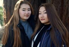 Kangli & Tenzin (e³°°°) Tags: kangli tenzin ghent girl girls sisters stunning park garden tibet dame duo double twee two ladies meisje mädchen meisjes mademoiselle model femme fille face fotoshoot shoot winter women dames portrait portraiture portret posing pose retratos