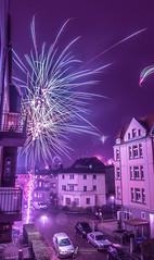 New Year (Northcraft Photographs) Tags: happy new year neu jahr neujahr germany deutschland silvester sylvester 2018 2019 fireworks street streets feuerwerk farben colors sony alpha a57 sigma