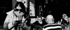 Never ignore the background! (Baz 120) Tags: candid candidstreet candidportrait city candidface contrast street streetphotography streetphoto streetcandid streetportrait strangers rome roma ricohgrii europe women monochrome monotone mono noiretblanc bw blackandwhite urban life portrait people italy italia grittystreetphotography faces decisivemoment