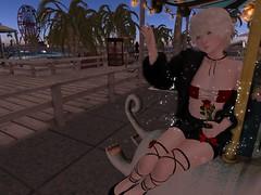 Goodbye stars (Amethyzt) Tags: albino secondlife vtech maitreya femboy androgynous dura kawaii flower chocolate rose romantic elegant sweet valentine heart lights