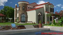 Villa (cisil8585) Tags: 3d dem3dcom dem 3boyutlu render görselleştirme visualization animation animasyon 3d360°