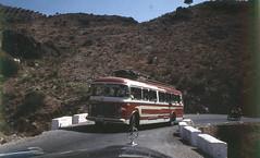 Bus from Almería to Malaga (Arne Kuilman) Tags: lostandfound photos photonotmine scan v600 epson holiday found gevonden spain malaga 1960 bus transport almeria route autobus