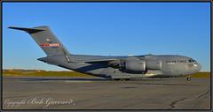 """93-0600 USAF Tennessee Air National Guard """"Memphis Belle XI"""" (Bob Garrard) Tags: 930600 usaf tennessee air national guard memphisbellexi mcdonnell douglas c17a globemaster iii anc panc"""