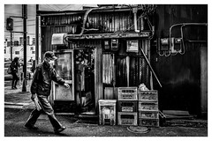 Untitled (Takahiro Hiroki) Tags: japan monochrome yokohama blackandwhite bnw street