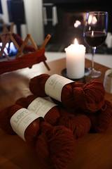2019-2-23 Evening yarn winding