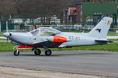BAF_Siai Marchetti SF260D_ST-41_ANR_MRT19 (Jonas_Evrard) Tags: aviation airport aircraft airplane airliner antwerp antwerpairport spotting spotter photography planespotting plane planes planespotter
