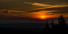 Good morning (Deutscher Wetterdienst (DWD)) Tags: wetter weather himmel sky sonnenaufgang sunrise wolken clouds cirrus frühlingsanfang springstart