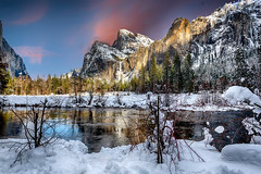 Gates of Yosemite (Ted Holm Photography) Tags: yosemite national park nikon snow mountains river