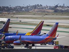 N731SA Boeing 737-7H4 Southwest Airlines (corkspotter / Paul Daly) Tags: n731sa boeing 7377h4 w b737 27863 318 l2j a9d053 swa wn southwest airlines 1999 n1786b 19990712 klax lax los angeles