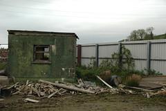 Guard House (IntrepidExplorer82) Tags: ammunition depot ww2 second world war magazine royal navy cold sentry post nissen hut shelter bunker abandoned