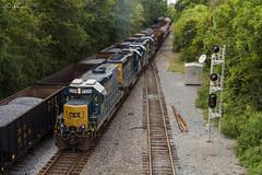 Four By Fours (travisnewman100) Tags: csx train railroad rr freight manifest local yard job a700 y220 control point wa wye gp382 gp392 gp402 locomotive subdivision atlanta division road slug