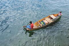 Bajau Laut (Sea Gypsies). (Andy @ Pang Ket Vui ( shootx2 )) Tags: bajau laut kids sea gypsies sama semporna boat ocean seafaring life live