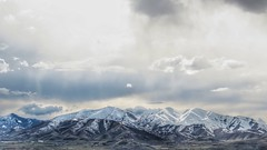 Going Away From Work (Robert Cowlishaw (Mertonian)) Tags: 4beauty snowcaps panoramic wonder awe ineffable spring2019 snow clouds outside sx70hs powershot canon canonpowershotsx70hs robertcowlishaw earlyevening rockymountains mertonian