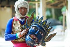 Gomira Mask Dancers of Bengal (pallab seth) Tags: gomiramask artisans dancers bengal india mukhakhel mahisbathan khuniadanga kushmandi craftsmen crafts maskmakers woodenmask ancient ritual tradition maskdance folkart artists animism rituals portrait face