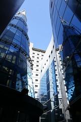 IMG_0802 (Ethene Lin) Tags: apc2018 福華文教會館 研討會 玻璃帷幕 倒影 藍天