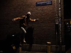Prinsenhofssteeg, Amsterdam (Orignal Vagabond) Tags: amsterdam nigh street blur night
