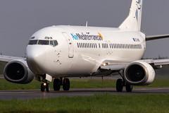 Air Mediterranean / B734 / SX-MAI / LFRS (_Wouter Cooremans) Tags: nte nantes spotting spotter avgeek aviation airplanespotting air mediterranean b734 sxmai lfrs airmediterranean