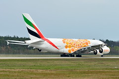 """A6-EOV Emirates Airbus A380-800  """"Expo 2020 (Opportunity / Orange)"""" (czerwonyr) Tags: a6eov emirates airbus a380800 expo2020opportunityorange"""