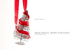 Buon Natale, Merry Christmas (Obliot) Tags: a7r3 natale finto christmas nastro obliot rosso aufuri 2018 argento sony xmas bianco a7riii albero