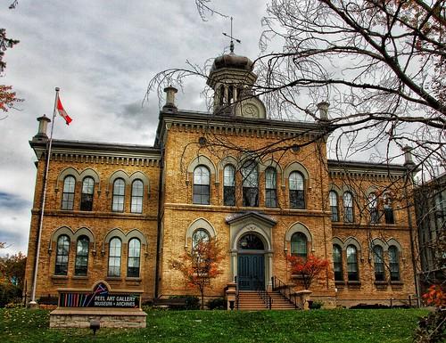 Brampton Ontario - Canada - Peel Art Gallery, Museum and Archives -  Historical Building